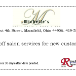 Michelles Salon Coupon