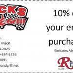 Bucks Coupon Test