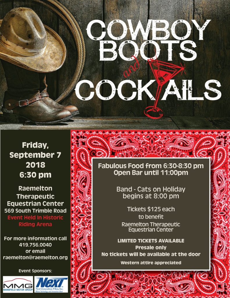 cowboy boots and cocktails